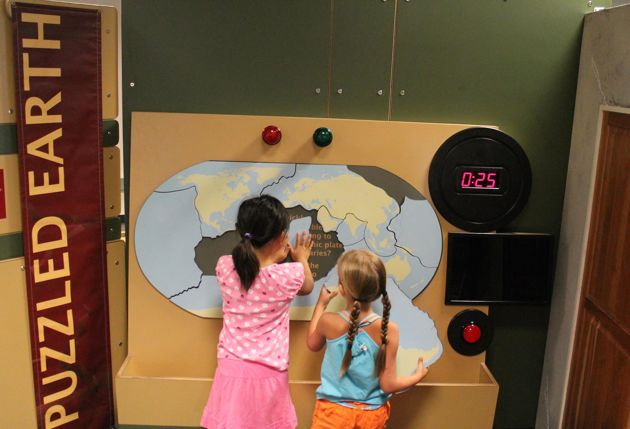 Earth Shaking New Exhibit at the Long Island Children's Museum